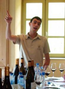 Cave de Tain winemaker Olivier Ciosi